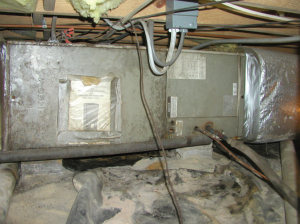 Sweating on ducts and AC equipment
